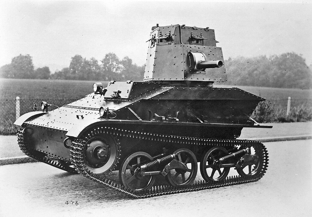 Vickers Carden-Loyd Light Tank Mk IV, India