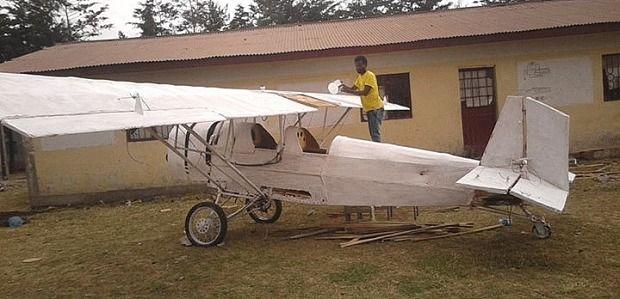 собственный самолет из старого барахла