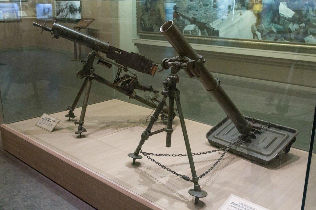 Пулемет и миномет