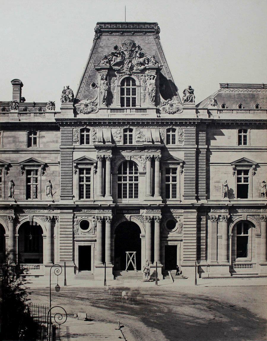 1855. Новый Лувр. Павильон Кольбера