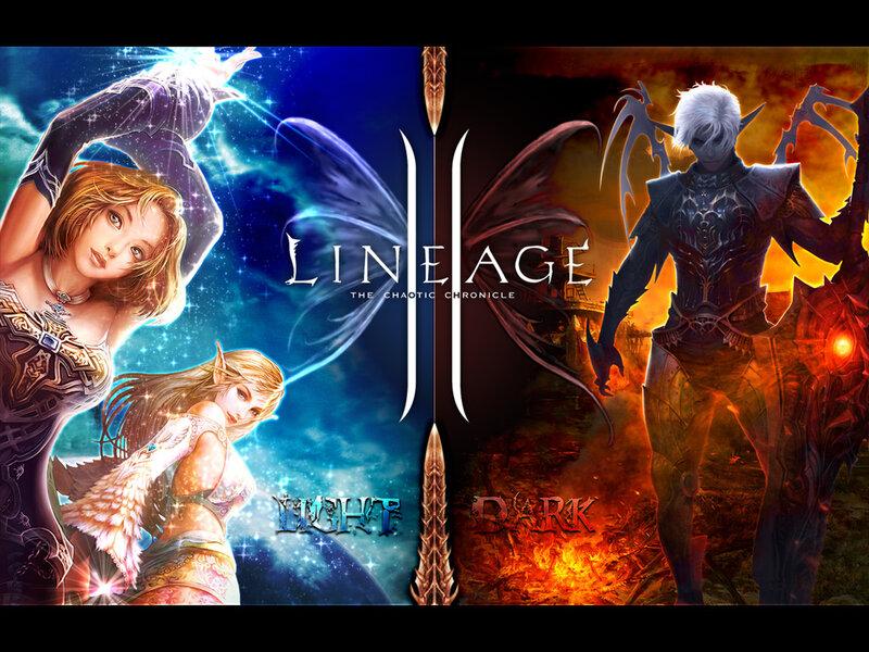 Lineage 2 Gracia игроки лицея.