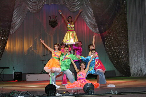 Участники конкурса Мисс и Мистер СХК-2008