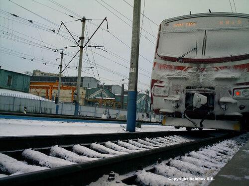 железная дорога, Украина