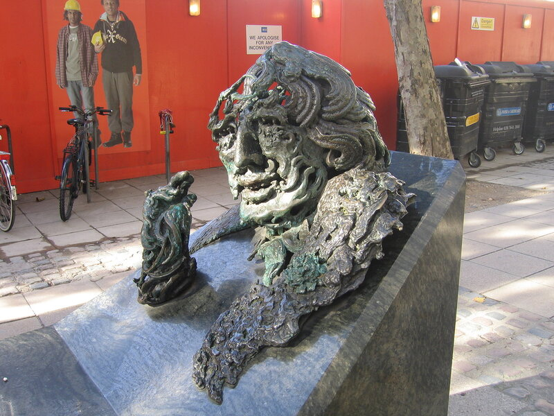 Памятник О.Уайльду
