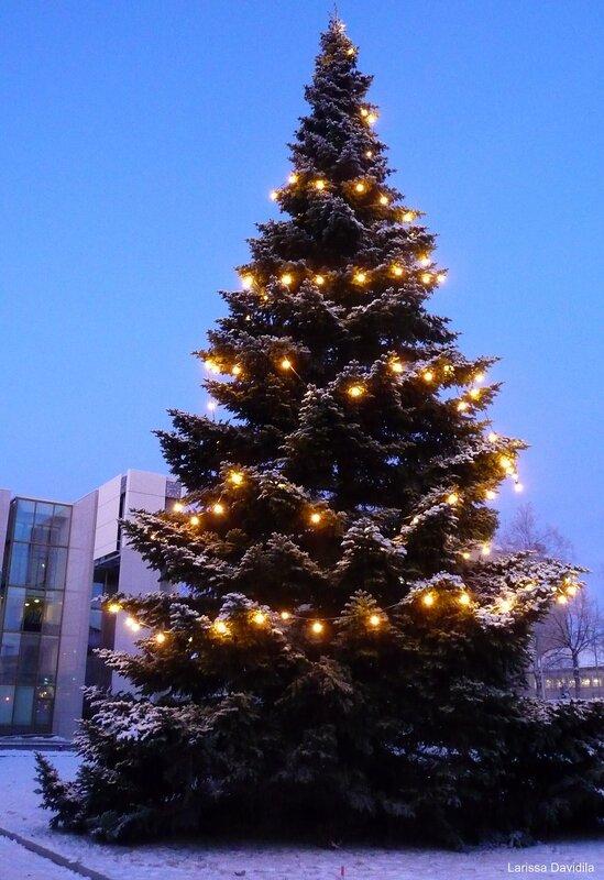 Рождественская ёлка города.