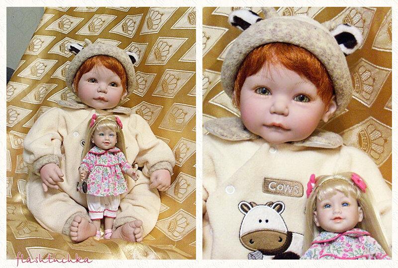Adora Dolls - мои Иришка и Рашель