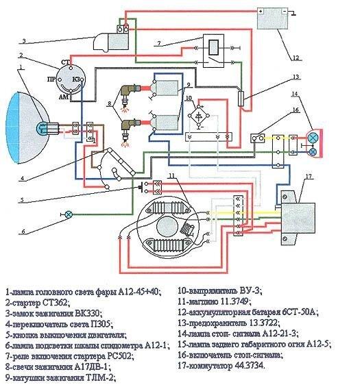 «Электросхема Буран С-640 А1»
