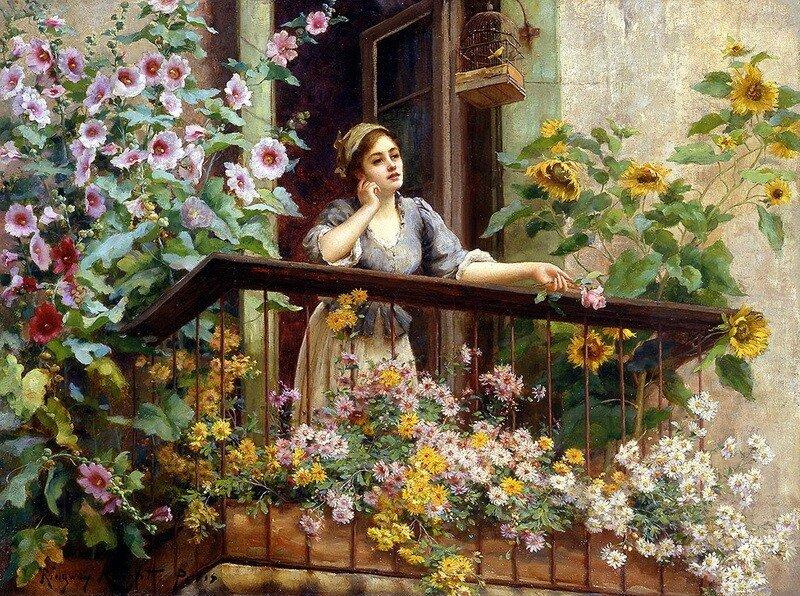 Даниэля Риджуэй Найт, представителя плеяды западных художников девятнадцатого века в живописи.