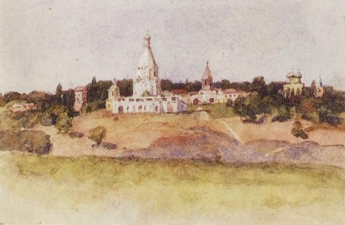Суриков. Коломенское, 1910-е