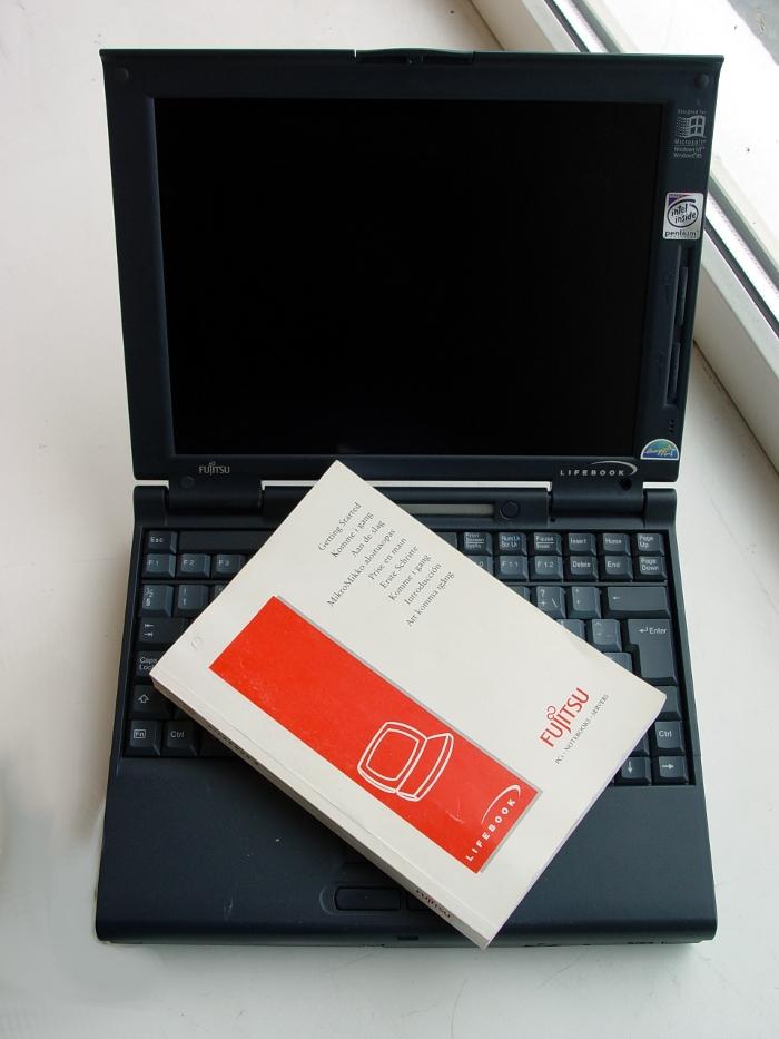 fujitsu lifebook 735Dx