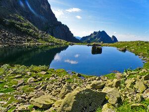 Озеро Сказка, август
