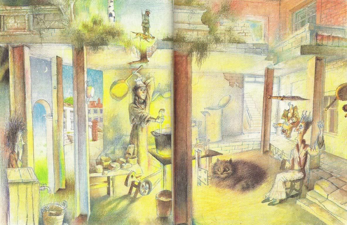 в Стране Чудес Переск с анг Вл.Орла Художник Г.Калиновский М: Детская литература, 1988  Формат 21 Х 27 см. Твердый переплёт, 144 стр. Тираж 100 000  90 цветных иллюстраций 1 двуцветная иллюстрация на обложке
