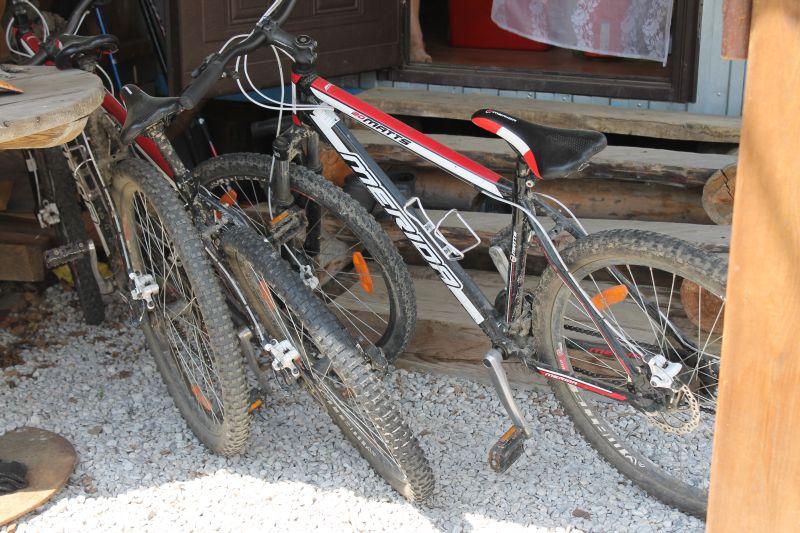 Если хочется активного отдыха можно взять велосипеды на прокат. (09.06.2015)