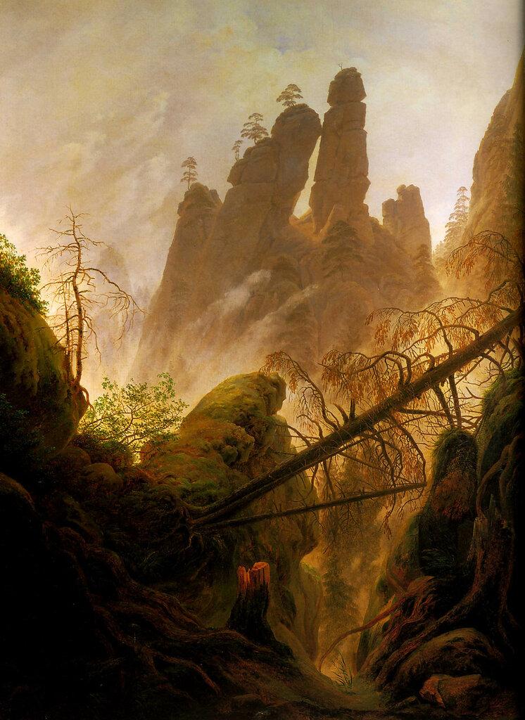 Rocky Ravine (1822-23)  94x74 cm  Vienne, österreichische Galerie im Belvedere.jpg