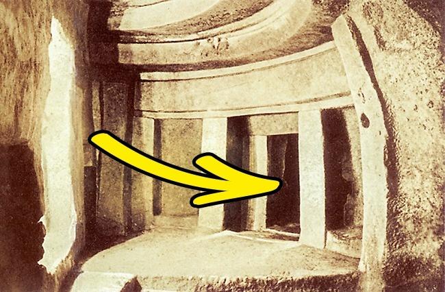 © wikimedia  Гипогей Хал-Сафлиени — древнейшее подземное святилище. Самая интересная его част