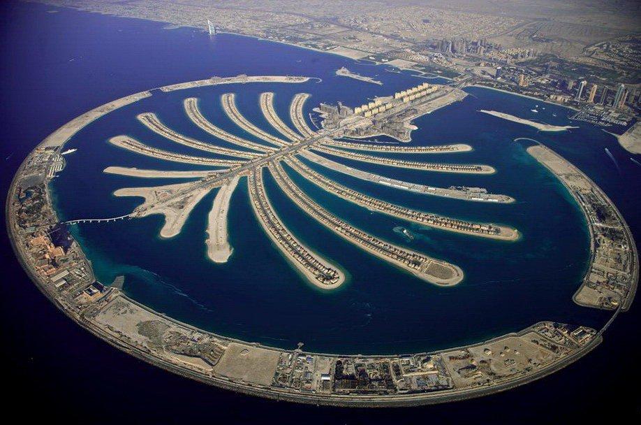 37. Крупнейший в мире рукотворный архипелаг - общий план.