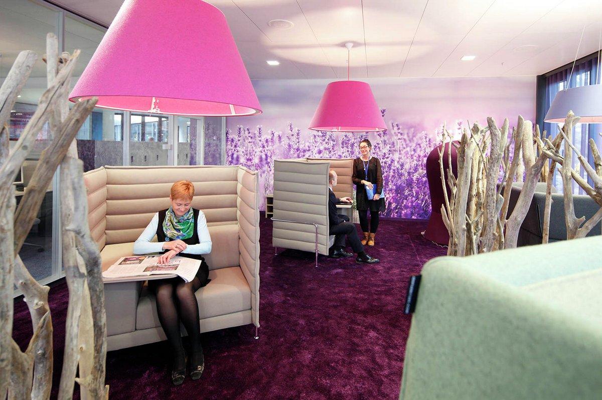 дизайн офисов банков, easyCredit, офис easyCredit, оформление офисов банка, дизайн холла офиса, идеи дизайна офиса, Evolution Design