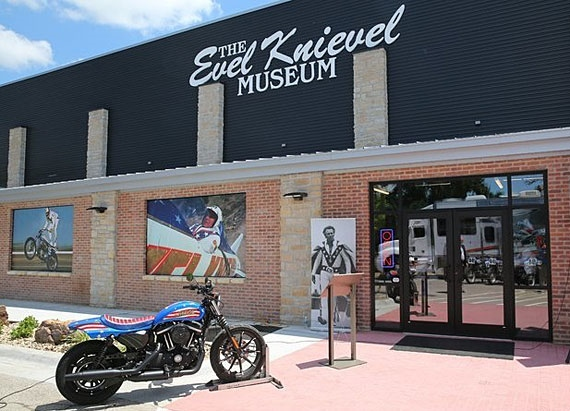 Музей Ивела Книвела открыли в Топика, Канзас