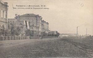 Вид казенного склада с Барашлиской слободы