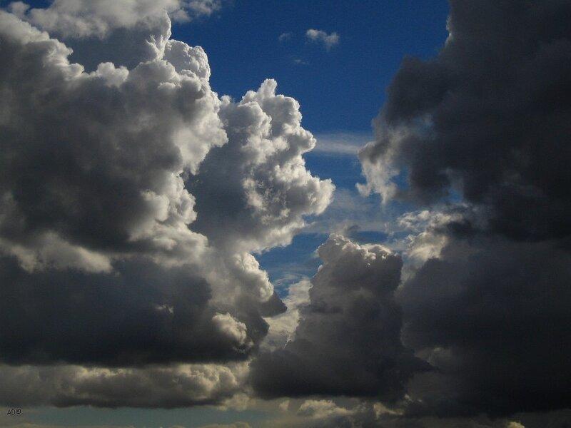 июльские облака