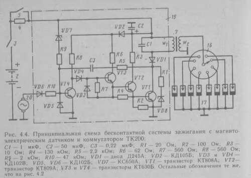 Со временем - схема ТК 200