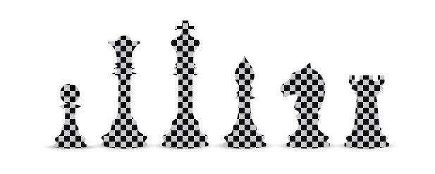 Камуфляж шахмат
