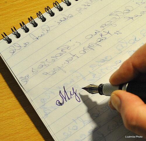 Как заправить ручку