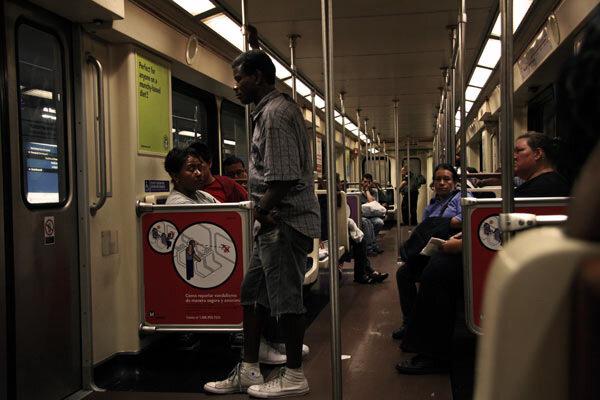 метро в голливуде
