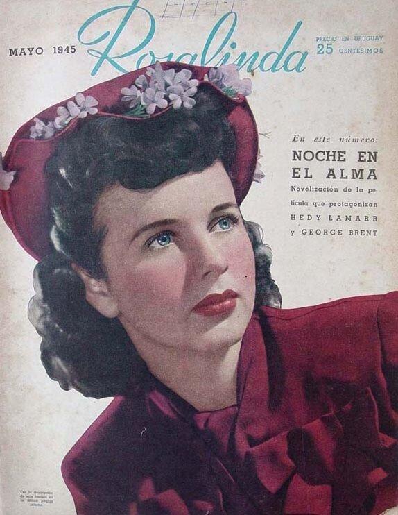 Deanna Durbin Rosalinda May 1945.