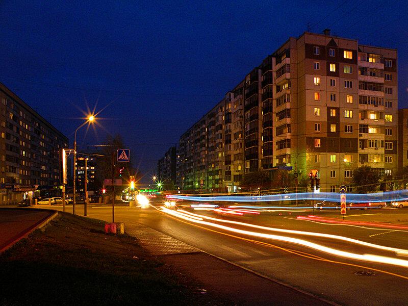 Огни улицы Новосибирской