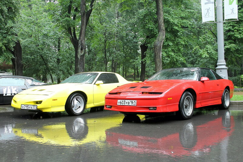 Retrofest at Sokolniki - foreigners