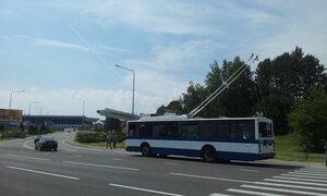 В Кишиневе презентовали первый троллейбус на аккумуляторе