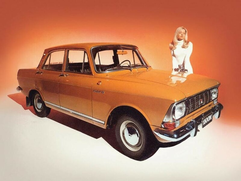 Как СССР рекламировал автомобили (старые фотографии)