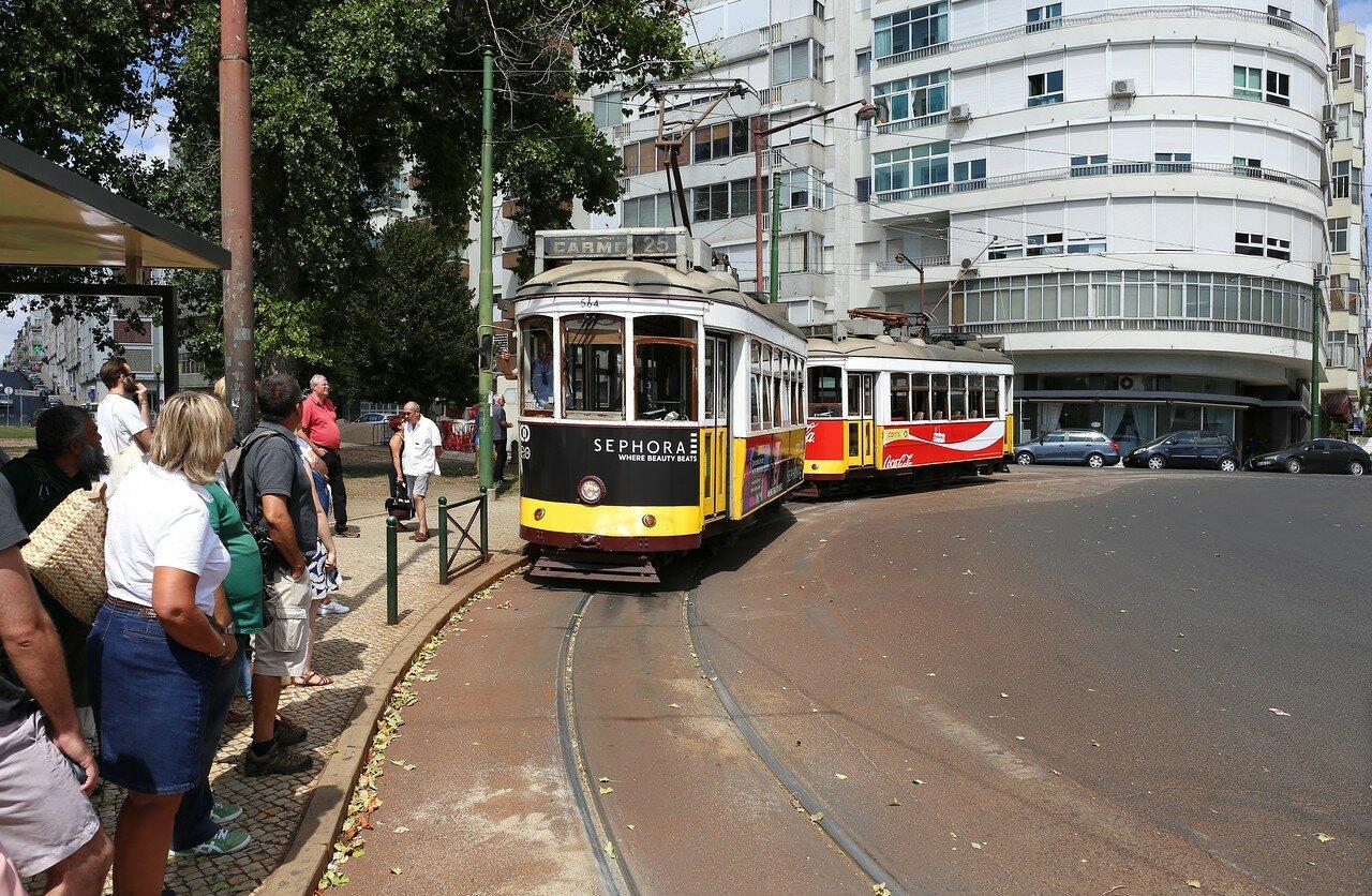Lisbon. Saint John Bosco Square (Praça São João Bosco)