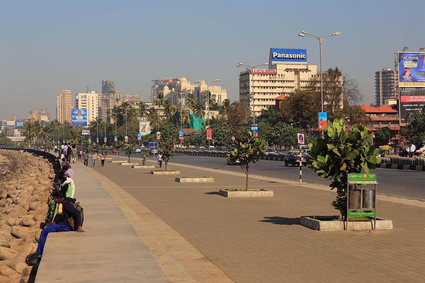Фото 23. Набережная. Поездка в Мумбаи. Отчеты туристов об отдыхе в Индии.