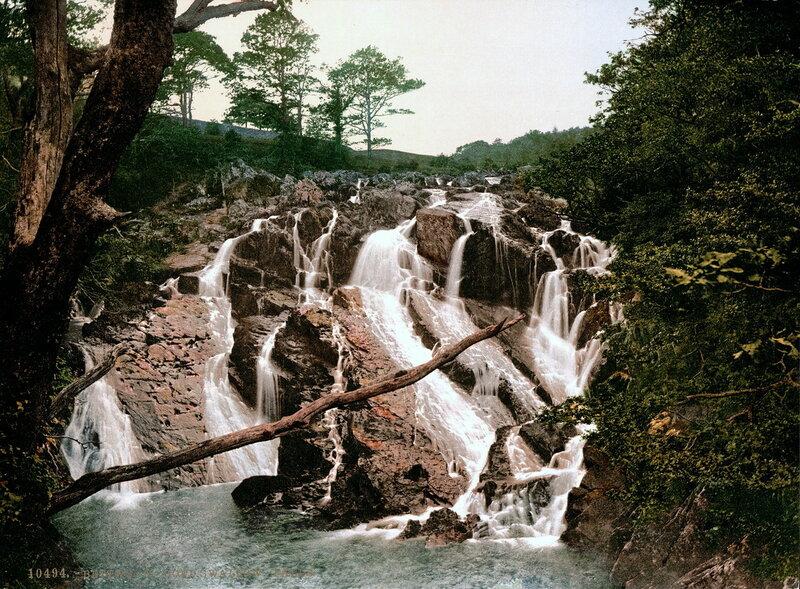 3. Бетус-и-Койд, река Фэйри Глен, водопады