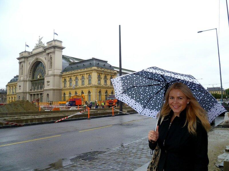 Будапешт, вокзал Келети (Budapest, Keleti Railway Station)
