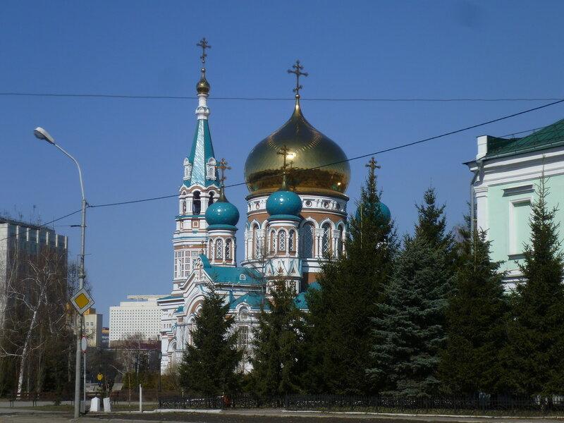 Омск, Свято-Успенский собор (Omsk Dormition Cathedral)