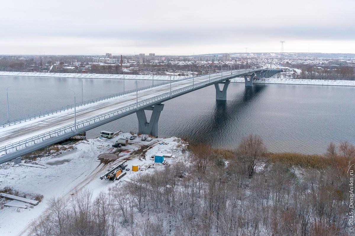 Мостовой переход через судоходный канал в Балаково 1