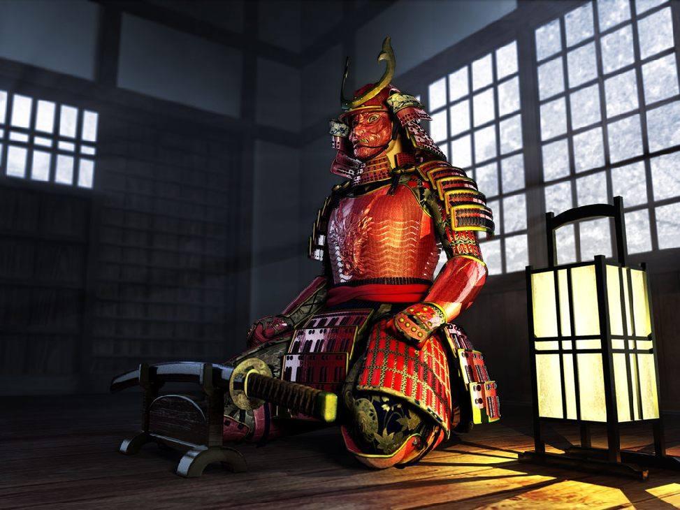 япония, самурай