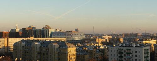 Ноябрьская панорама Москвы