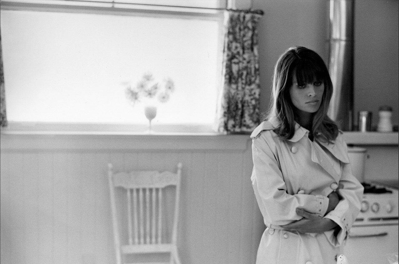 1967. Джули Кристи в Сан Франциско на съемках «Петулии»
