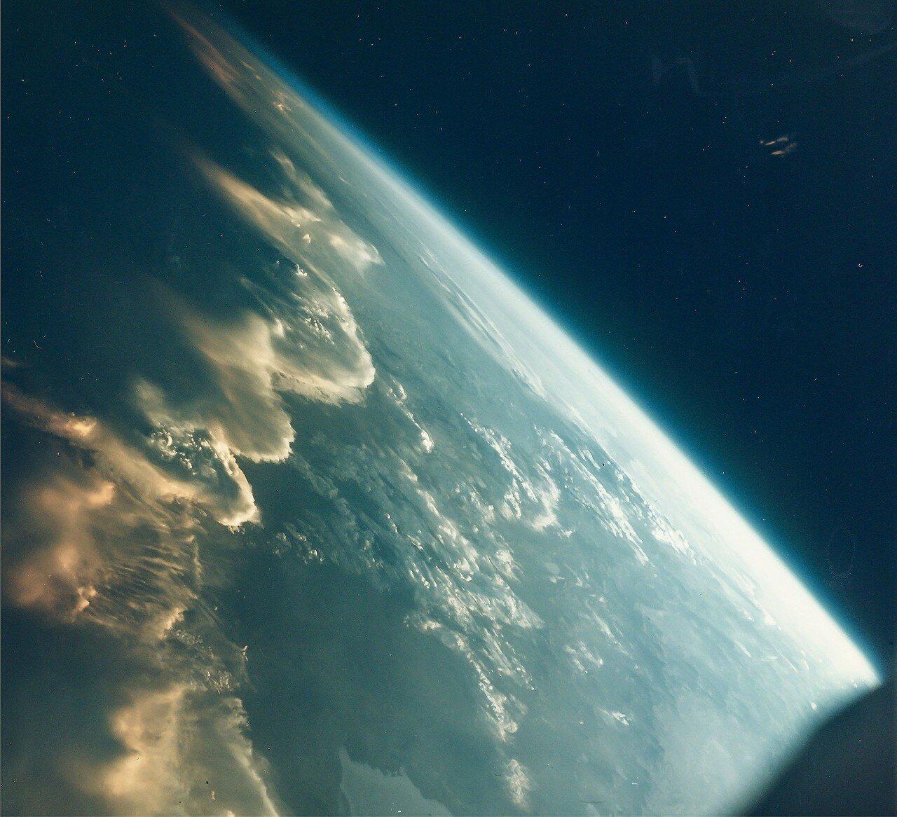 1965, декабрь.  Закат над Андами, Джемини-7