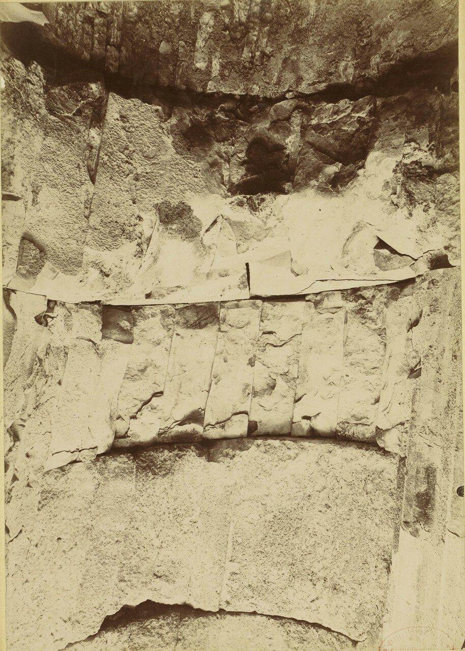 1886. 09. Фрагмент стены