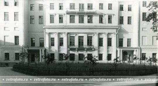 Волхонка, д. 14, фото 1957 г.