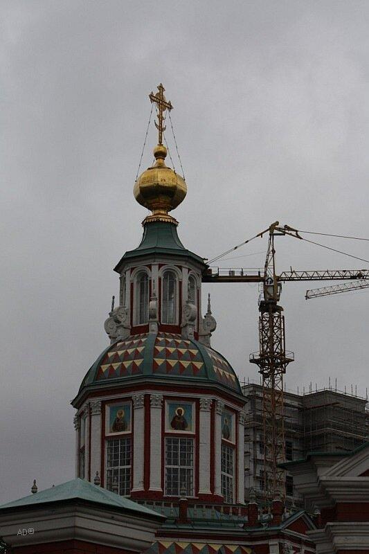 Храм Иоанна-Воина на Якиманке