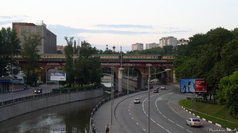 Ж/Д мосты в городской среде