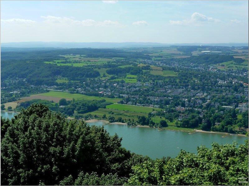 Вид на Рейн.
