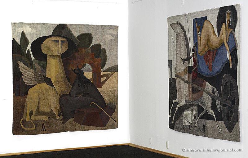 Андрей Мадекин. Выставка. 22.11.2009.