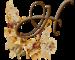 Цветочный алфавит для вашего блога – большие буквы